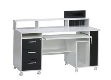 saale pc schreibtisch li il insonoma eiche ein echtes. Black Bedroom Furniture Sets. Home Design Ideas