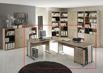 Bega Eck-PC Schreibtisch XXL mit Container -