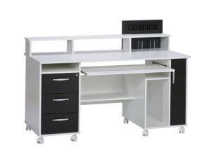 PC Schreibtisch Weiß