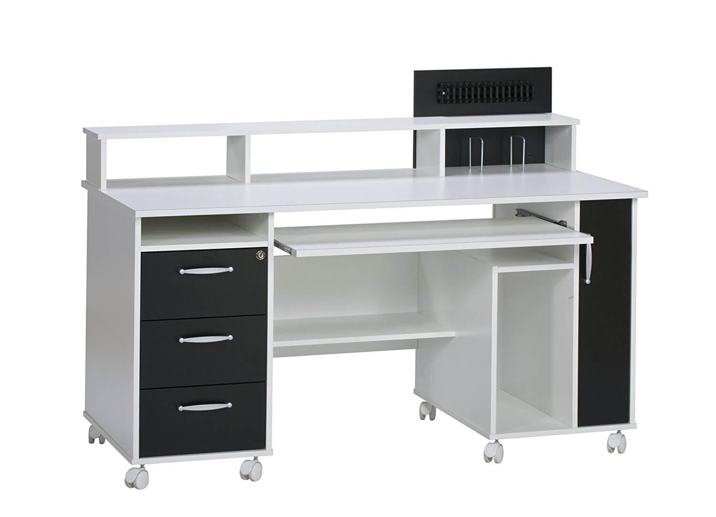 pc schreibtisch wei li il die fetzigsten angebote bis 40. Black Bedroom Furniture Sets. Home Design Ideas