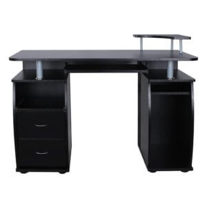 Songmics PC Schreibtisch schwarz