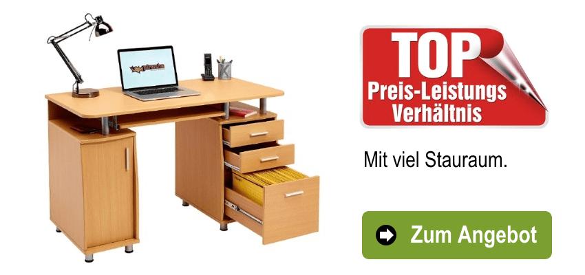 Angebot Piranha PC Schreibtisch