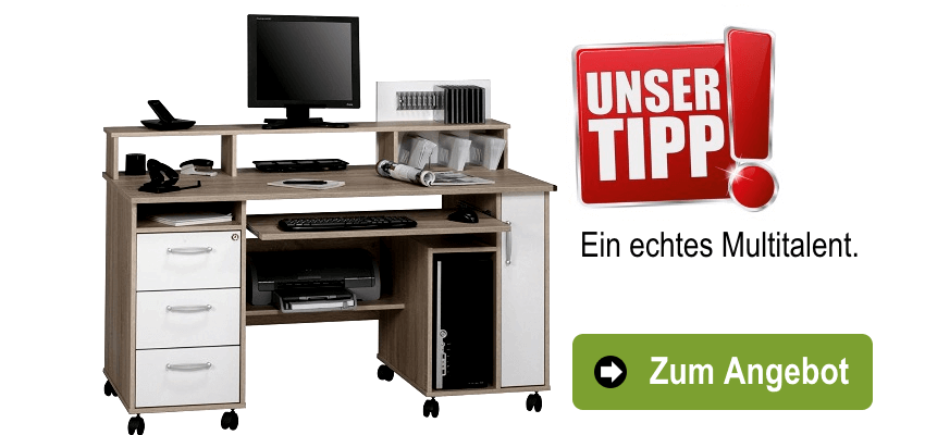 pc li il tolle pc schreibtische zubeh r klick. Black Bedroom Furniture Sets. Home Design Ideas