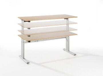 Ergobasis Schreibtisch elektrisch höhenverstellbar-2