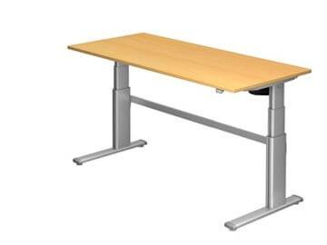 Ergobasis Schreibtisch elektrisch höhenverstellbar-1