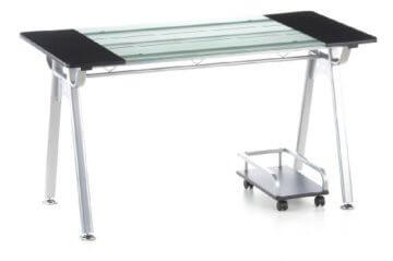 Orion PC Schreibtisch Glas-3