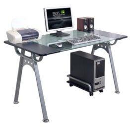 Orion PC Schreibtisch Glas-1