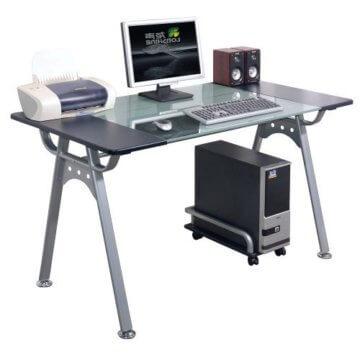 Pc schreibtisch  Orion PC Schreibtisch • GLAS lI❶Il Designerschreibtisch ➥Anschauen!
