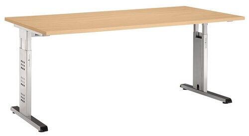 pc schreibtisch mega li il h henverstellbar jetzt ansehen. Black Bedroom Furniture Sets. Home Design Ideas