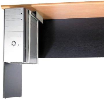 General Office Computer Halterung: Universal-Schienen-Halterung zur PC-Untertisch-Montage (PC Halterung Schreibtisch) - 2