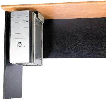 General Office Computer Halterung: Universal-Schienen-Halterung zur PC-Untertisch-Montage (PC Halterung Schreibtisch) - 1