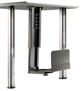 ROLINE PC Halterung   Computerhalterung Untertisch   Tischhalterung in schwarz - 1
