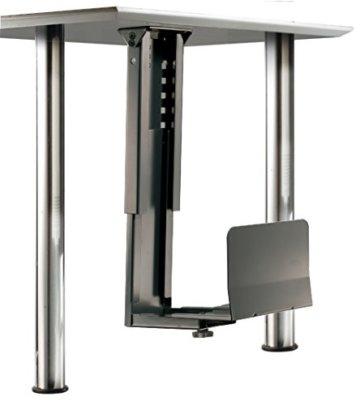 ROLINE PC Halterung | Computerhalterung Untertisch | Tischhalterung in schwarz - 1